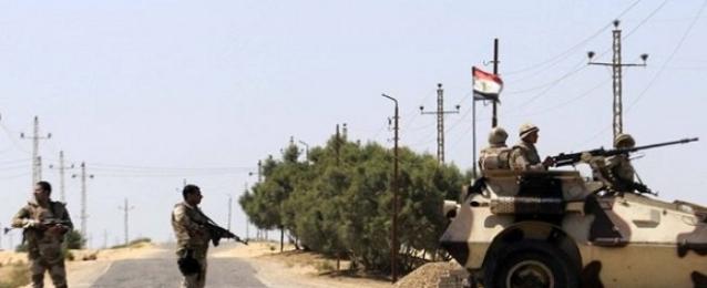 ضبط 6 عناصر تكفيرية وتدمير 15 بؤرة إرهابية بشمال سيناء