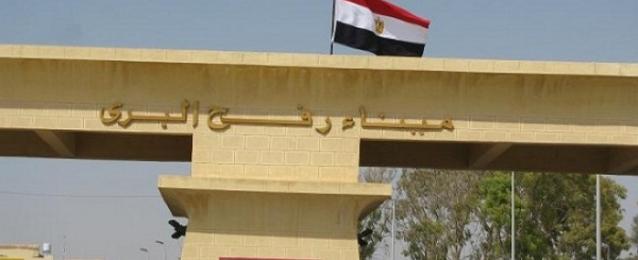2230 فلسطينيا دخلوا مصر عبر رفح منذ بدء العدوان الإسرائيلي علي غزة