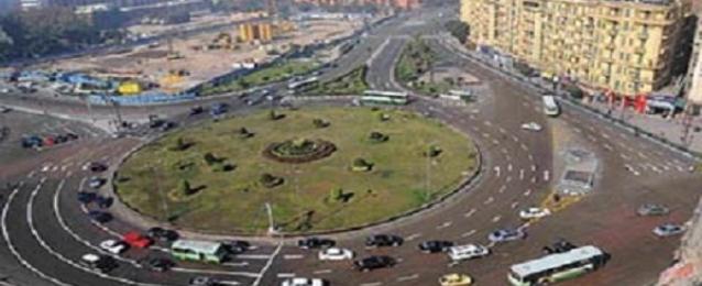 """فتح ميادين """" التحرير , والنهضة , ورابعة العدوية"""" أمام حركة مرور السيارات"""