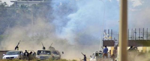"""تجدد قصف مناطق لـ""""أنصار الشريعة"""" ببنغازي"""