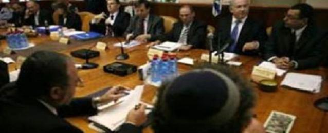مجلس الوزراء الإسرائيلي المصغر يرفض بالإجماع صيغة كيري لوقف إطلاق النار