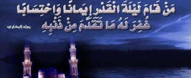 مدير المساجد يؤكد ان الاعتكاف لايعنى الانقطاع عن العمل ولكن قيام الليل