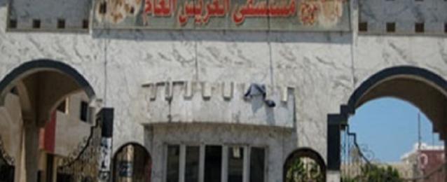 وكيل وزارة الصحة بشمال سيناء يتفقد الجرحى الفلسطينين بمستشفى العريش العام