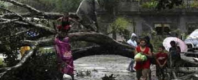 مصرع 38 شخصا فى اعصار الفيليبين رغم عمليات الاجلاء المكثفة