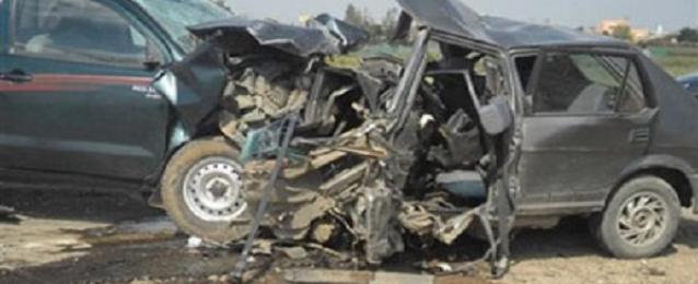 مصرع 4 وإصابة 8 بحادث على طريق سوهاج – البحر الأحمر