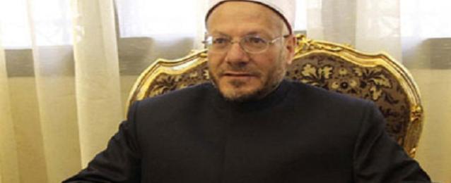 مفتي الجمهورية يدين العملية الإرهابية بالعريش ويصفها بالخارجة على مبادئ الإسلام