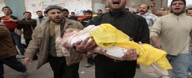 مقتل ثلاثة اطفال في غارة اسرائيلية على وسط غزة