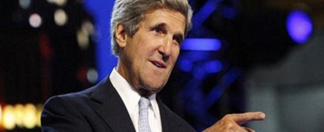 وزير الخارجية الأمريكى يصل القاهرة لبحث أزمة غزة