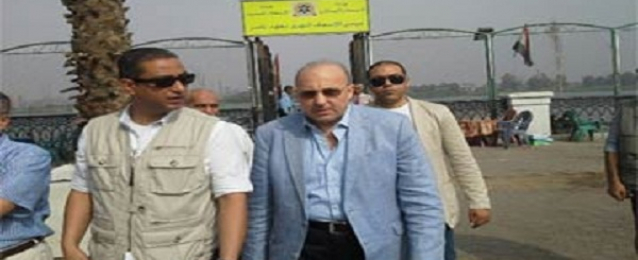 وزير الصحة يتفقد غرفة عمليات الاسعاف والمرسى النهرى