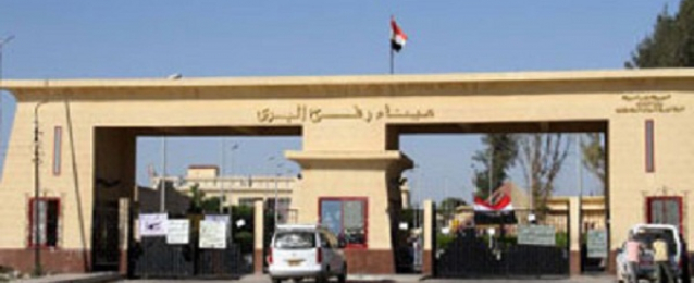 وصول حالة من الجرحى والمصابين الفلسطينيين إلى مصر لتلقى العلاج
