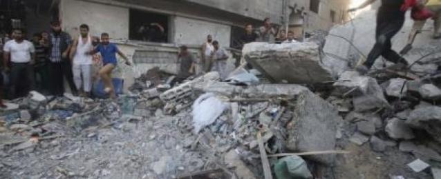 الجيش الإسرائيلي يوجه انذارا لسكان مخيمين بوسط غزة لترك منازلهم