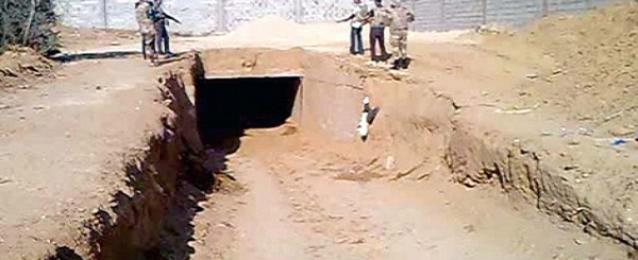 أمن شمال سيناء: ضبط 5 فلسطينيين تسللوا إلى رفح عبر الأنفاق