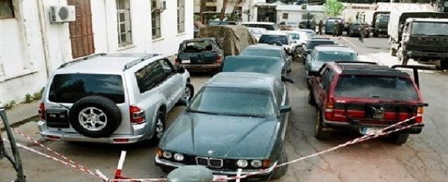 أمن مطروح يعثر على 4 سيارات مبلغ بسرقتهم