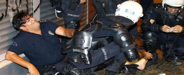 إصابة 3 رجال شرطة فى اشتباكات بأنقرة