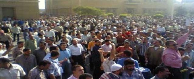 إنهاء إضراب عمال الشركة المصرية للإنشاءات المعدينة بشبرا الخيمة