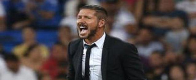 إيقاف سيميوني ثماني مباريات لطرده في كأس السوبر الاسبانية