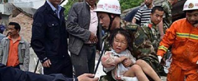 ارتفاع حصيلة ضحايا زلزال الصين إلى 600 قتيلا