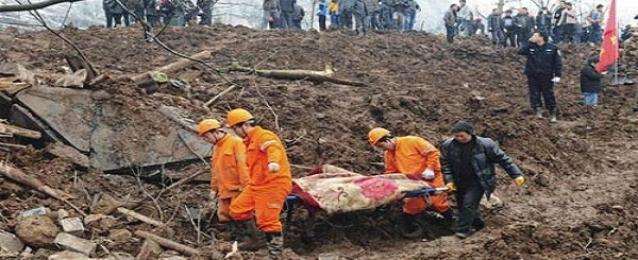 ارتفاع حصيلة قتلى الانهيار الأرضي في شرق الصين إلى 7 أشخاص