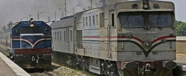 استئناف حركة القطارات بالمنوفية بعد توقف ساعة بسبب حريق في صناديق تشغيل السيمافورات