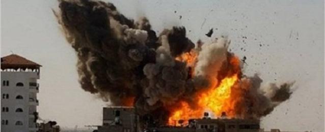 استشهاد سيدة فلسطينية وإصابة العشرات في سلسلة هجمات إسرائيلية على غزة