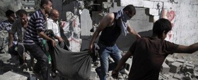 """استشهاد 12 فلسطينيا بينهم قائد بارز فى """"سرايا القدس"""" فى هجمات على غزة"""