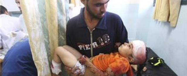 5 اصابات بينهم طفلان في سلسلة غارات إسرائيلية على قطاع غزة