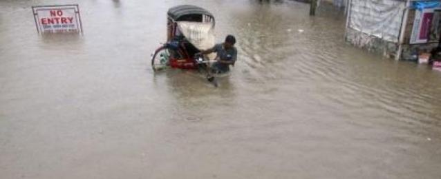 الأمطار تغمر 200 قرية هندية وتقتل 21 على الأقل