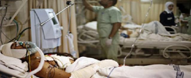 التيار الشعبي يقوم بزيارة للجرحى الفلسطينيين ضمن وفد التحالف الديمقراطى