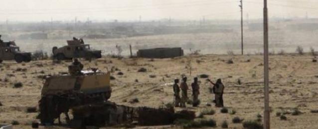 الجيش: مقتل 3 إرهابيين إثر تبادل لإطلاق النار مع عناصر التأمين بشمال سيناء