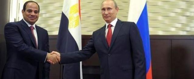 بوتين يستهل مباحثات القمة المصرية الروسية بتقديم الشكر للسيسي.. والرئيس: نتطلع إلى تعاون أوسع إشراقاً