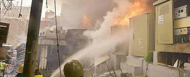 السيطرة على حريق بمحطة كهرباء بمركز قوص في قنا