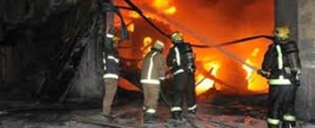 السيطرة على حريق في كشك كهرباء بطنطا