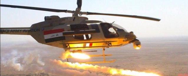"""الطيران العراقى يوجه ضربات لـ""""داعش"""" في الموصل تمهيدا لتقدم البيشمركة"""