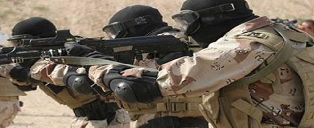 القبض على 5 مشتبه بهم وتدمير 13 دراجة بخارية في حملة بشمال سيناء