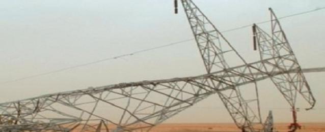 الكهرباء: الإرهاب يستهدف 3 أبراج تكلفة إصلاحها مليون و 400 ألف