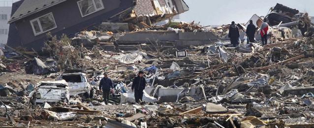 إرتفاع حصيلة الانهيارات الأرضية في اليابان إلى 66 قتيلا