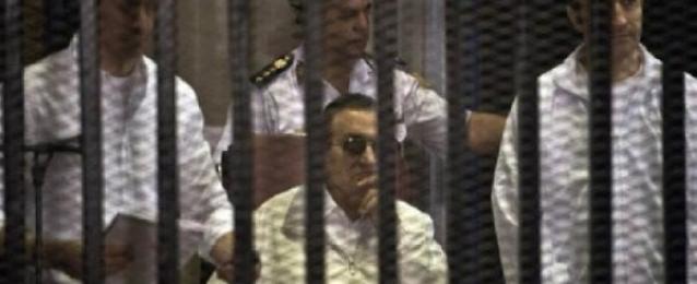 اليوم..استكمال سماع مرافعة دفاع مبارك فى محاكمة القرن