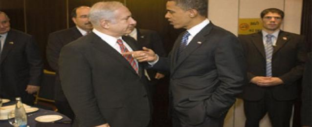 اوباما يؤكد هاتفيا لنتنياهو دعمه لجهود الوساطة المصرية بشأن غزة