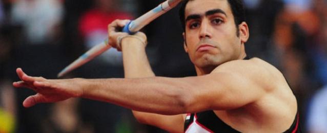 بطل مصر إيهاب عبد الرحمن يفوز بفضية رمي الرمح في بطولة إفريقيا لألعاب القوى