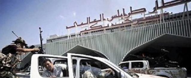 تجدد الاشتباكات بمحيط مطار طرابلس والمناطق المجاورة له
