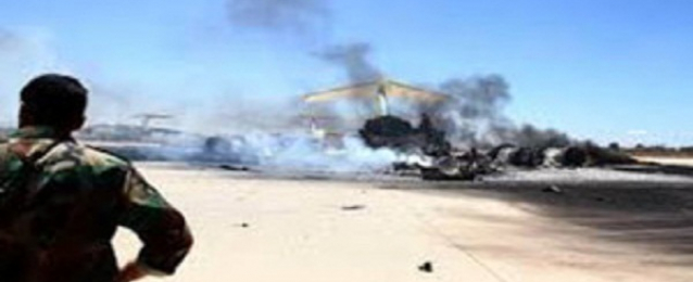تجدد القصف الصاروخي لمحيط مطار طرابلس والمناطق المحيطة به