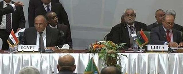 جلسة مغلقة لوزراء خارجية دول جوار ليبيا لبحث تطورات الاوضاع