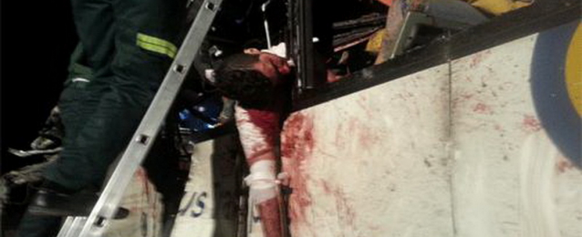 ارتفاع عدد ضحايا حادث شرم الشيخ إلى 44 قتيلا