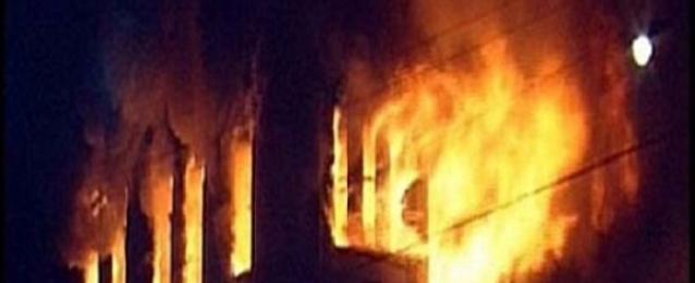 حريق هائل بمول تجاري بالغربية