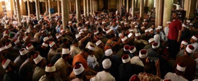 خطيب الجامع الازهر يؤكد ضرورة وحدة المسلمين ونبذ العنف والشتات