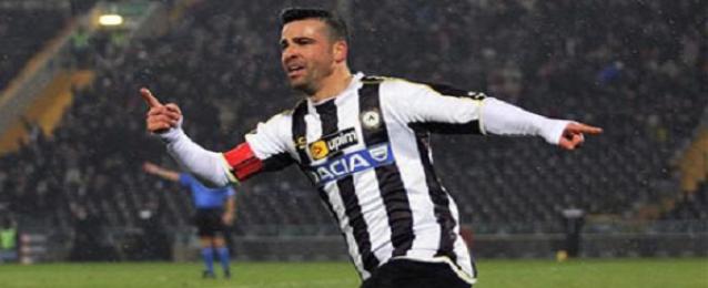 دي ناتالي يسجل رباعية ويقود اودينيزي لفوز كبير بكأس إيطاليا
