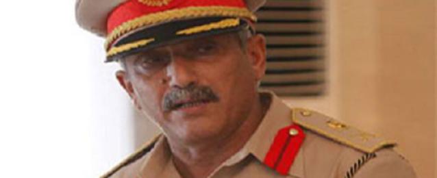 رئيس أركان الجيش الليبي يزور الشريط الحدودي مع مصر