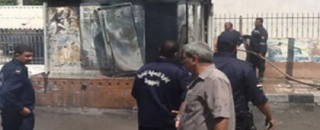 """عناصر """"الارهابية"""" يشعلون النيران بمحول الكهرباء الرئيسى لعمارات جامعة المنيا"""