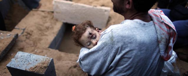 ارتفاع حصيلة العدوان الاسرائيلي على غزة إلى 1650 شهيدا