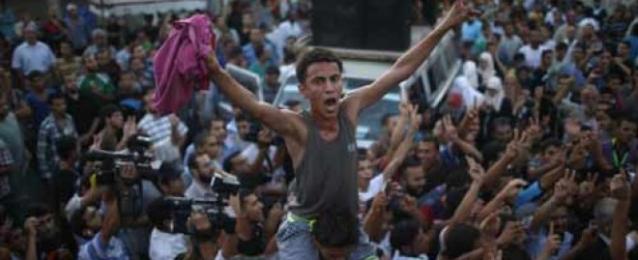 غزة تحتفل بمسيرات وتكبيرات بالمساجد ابتهاجا بوقف إطلاق النار